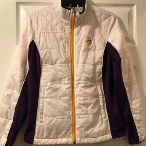 NFL Minnesota Vikings puffy jacket